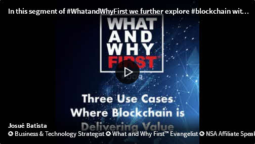 Three Use Cases Where Blockchain is Delivering Value