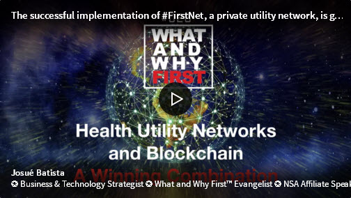 Health Utility Networks and Blockchain - A Winning Combination