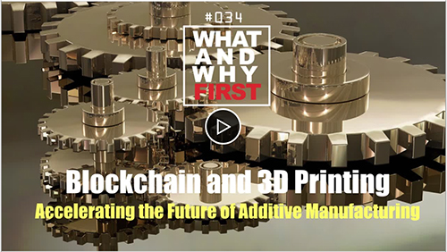 Blockchain and 3D Printing: Accelerating the Future of Additive Manufacturing
