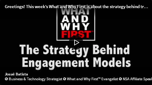 The Strategy Behind Engagement Models