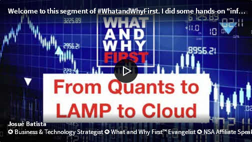 From Quants to LAMP to Cloud