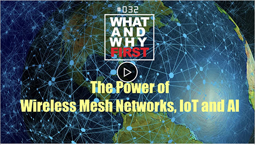 The Power of Wireless Mesh Networks, IoT, and AI