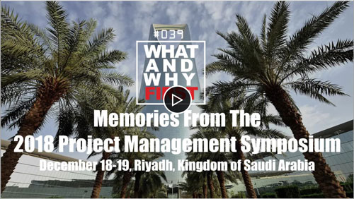 Memories from the 2018 PMI-KSA Project Management Symposium