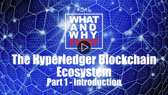 The Hyperledger Blockchain Ecosystem - Part 1: Introduction